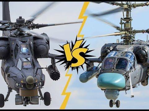 Апач против Ка-52.