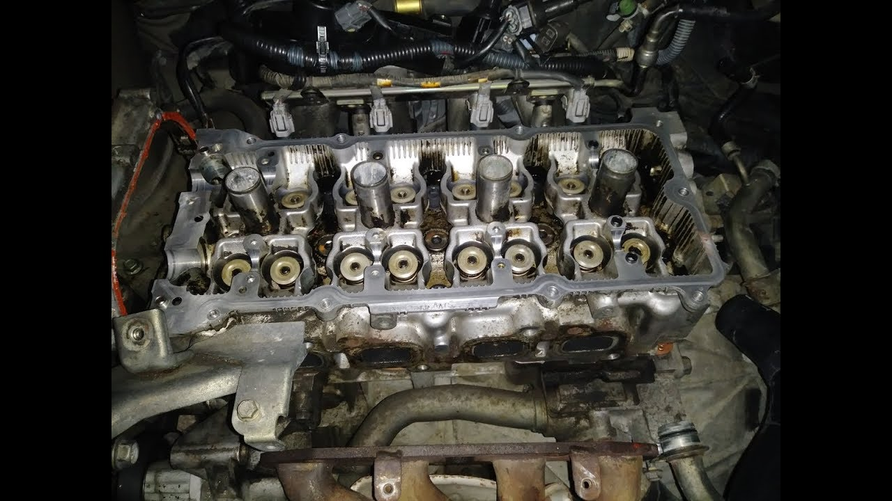 Head Gasket Replacement >> How To Replace Head Gasket On 2005 Nissan Altima Part 2 Assembly