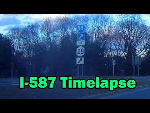 Timelapse........I-587 In Kingston, NY