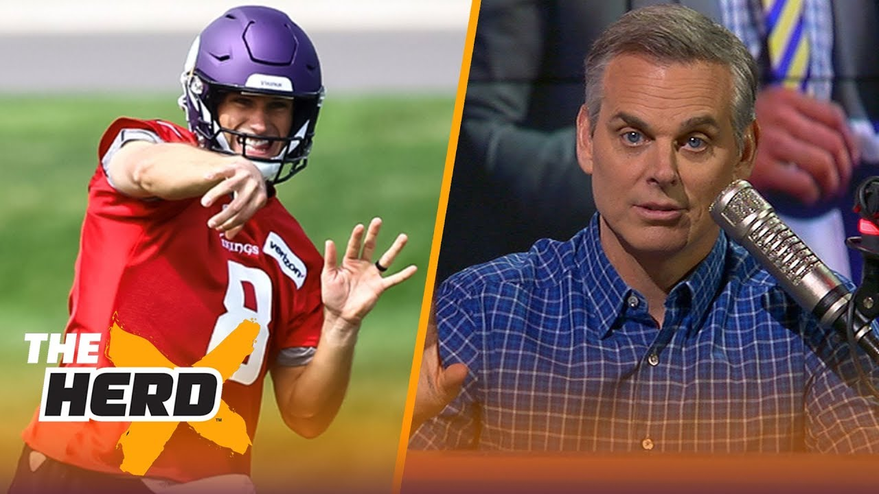 Colin Cowherd explains why he's not expecting another 13-3 season from the Vikings | NFL | THE HERD