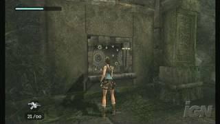 Tomb Raider Anniversary Nintendo Wii Gameplay - Working