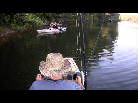 Kayak Fishing at Little Seneca Lake at Black Hills