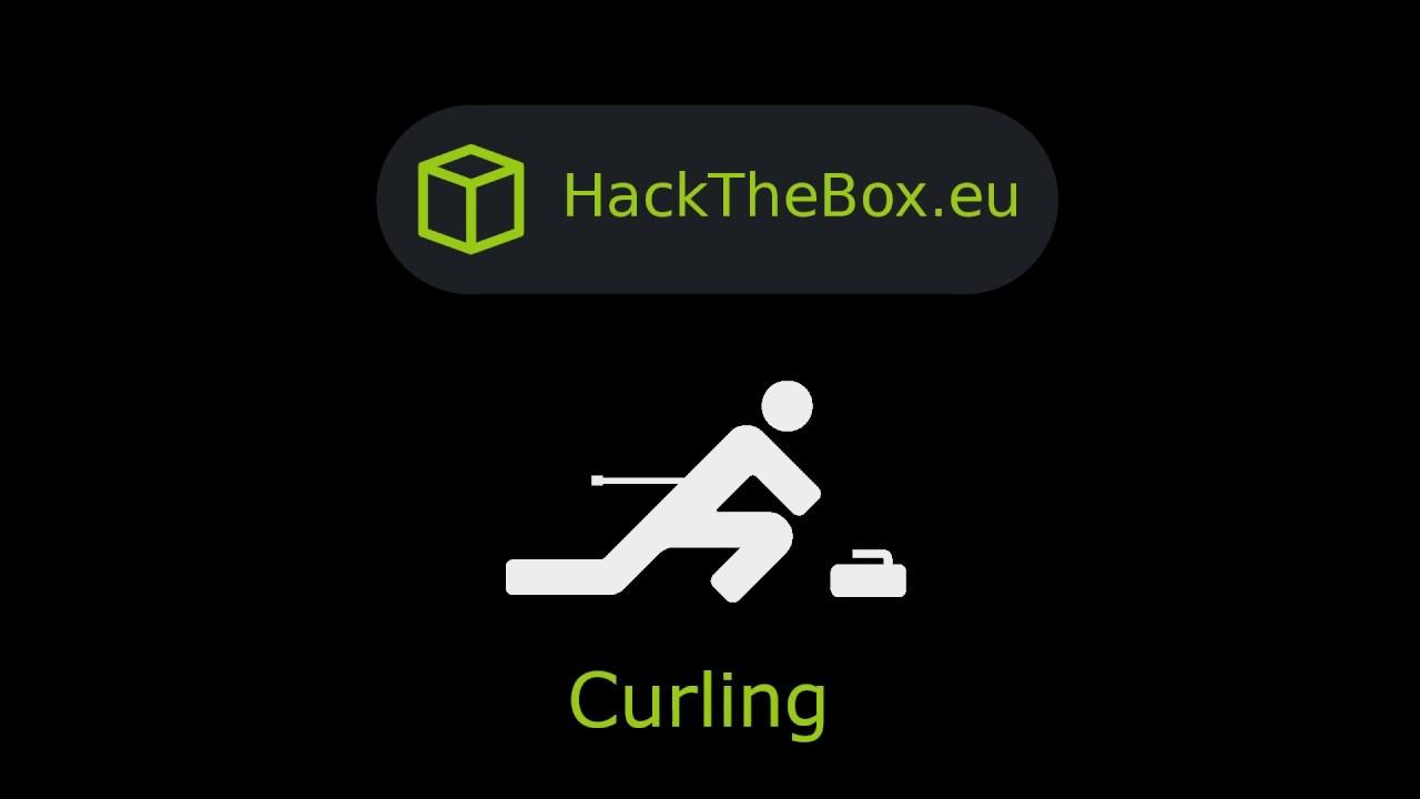 HackTheBox - Curling