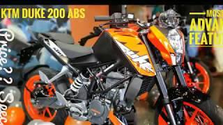 2019 KTM DUKE 200 ABS   Most Advance & Safest DUKE Ever   Walkaround  