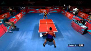 London 2012 - Table tennis gameplay clip (PC, 1080p)