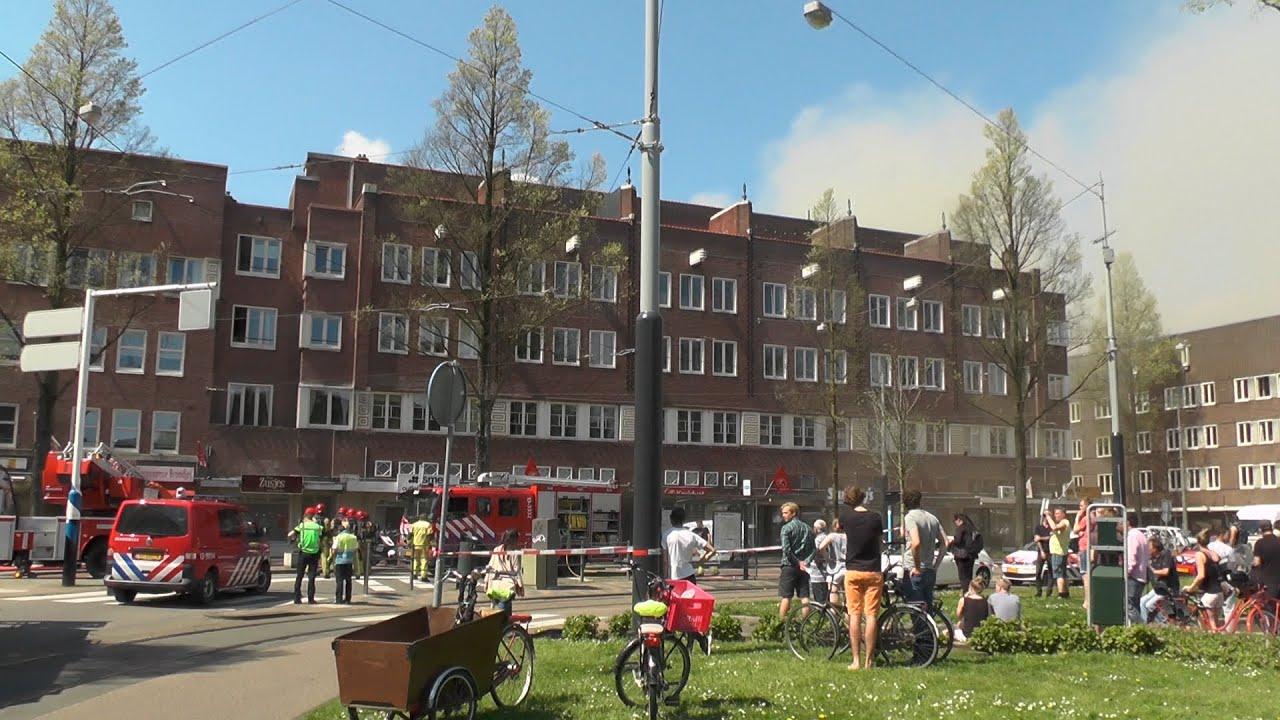 Zeer Grote Brand Hoofddorpplein Amsterdam 399 Youtube