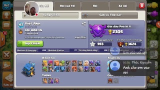 LIVE: Clash of Clans - COC WAR.VN