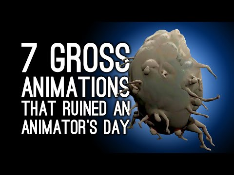 7 Grossest Animations That Ruined Some Poor Animator's Day