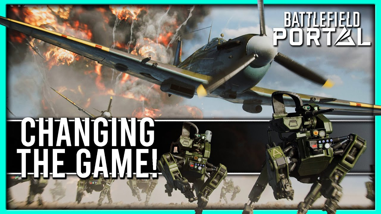 This is a Game-Changer! (Battlefield 2042 Portal Custom Gameplay)