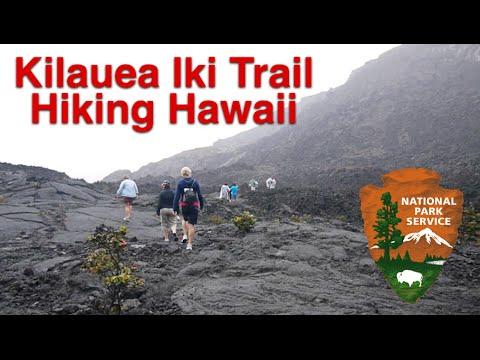 Hiking Kilauea Iki Trail Dormant Volcano Hawaii