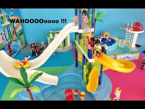Playmobil piscine toboggan auchan for Piscine de playmobil