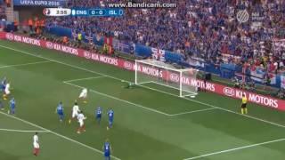 Anglia 1-2 Izland: Rooney tizenegyesgól