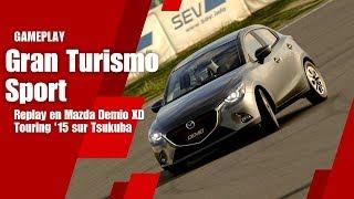 Gran Turismo Sport - Replay en Mazda Demio XD Touring sur Tsukuba