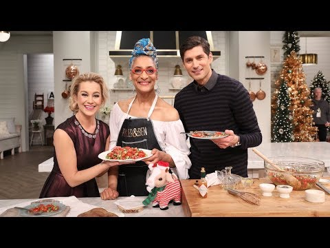 Carla Hall's Black Eyed Peas Salad Cooking Demo - Pickler & Ben