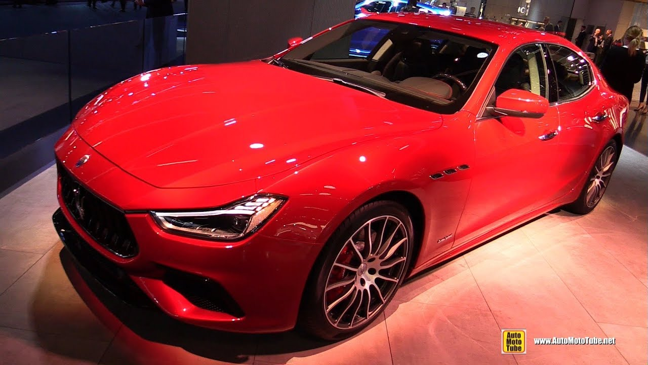 2018 maserati ghibli sq4 exterior and interior walkaround debut at 2017 frankfurt auto show. Black Bedroom Furniture Sets. Home Design Ideas