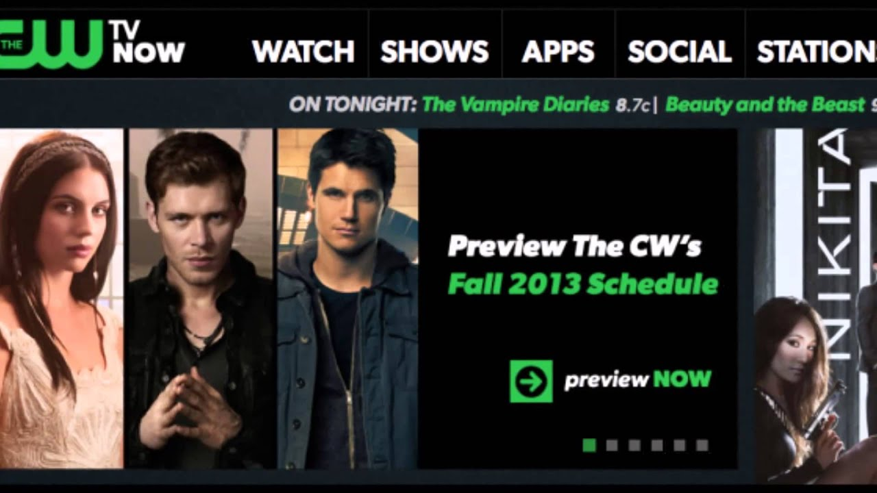 The cw tv station