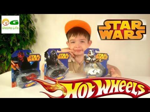 Машинки ХОТ ВИЛС Звездные Войны. HOT WHEELS STAR WARS.