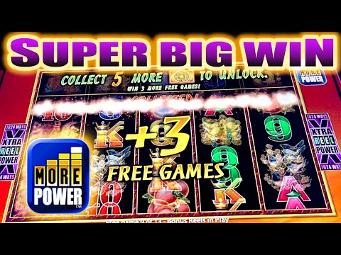 SUPER BIG WIN! PHOENIX RICHES SLOT MACHINE BONUS w/ ADDED FREE SPINS Aristocrat Slots