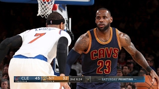 Cleveland Cavaliers vs New York Knicks - Full Game Highlights | Feb 4, 2017 | 2016-17 NBA Season