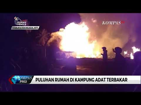 Puluhan Rumah Adat di NTT Ludes Terbakar