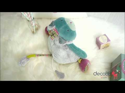 Doudou Chat Musical- Les Pachats - Moulin Roty - decobb.com