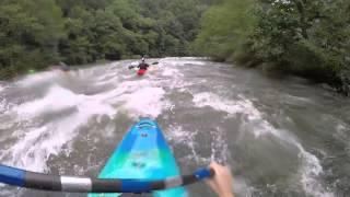 Middle Ocoee kayaking 8-8-2015 around 18-2000 cfs