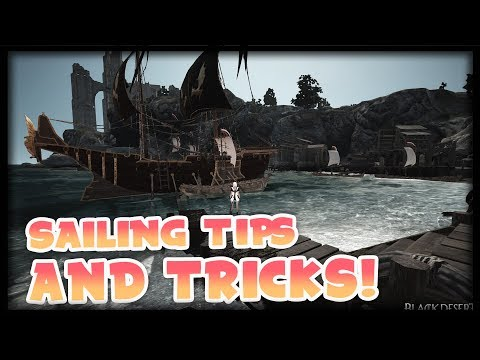 Black Desert Online - Guide to Using Your Epheria Sailboat or Frigate