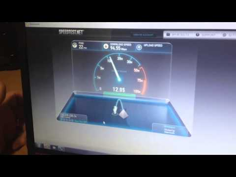 Real life test for the NBN speed test