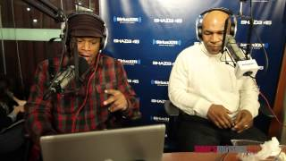 He likes kendrick lamar wiz khalifa and wale on sway in the morning
