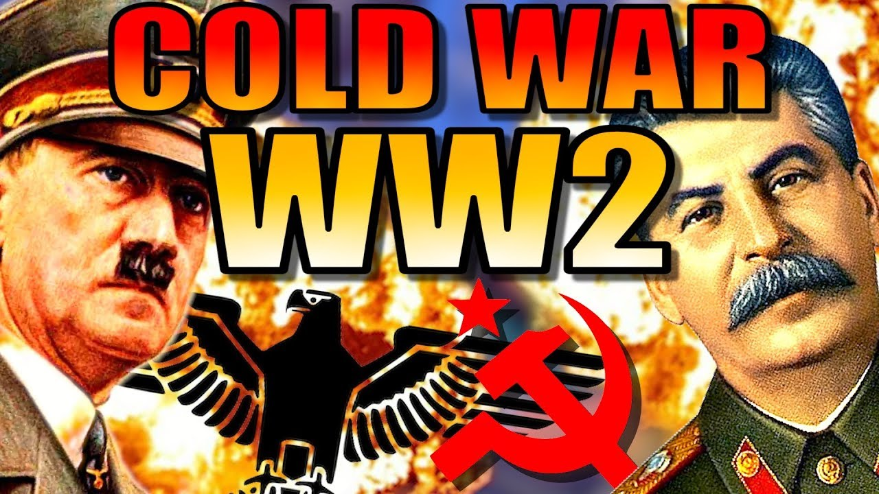 COLD WAR: WW2 | Hearts of Iron 4 [HOI4 Germany]