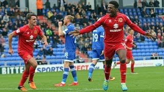 HIGHLIGHTS: Oldham Athletic 0-2 MK Dons