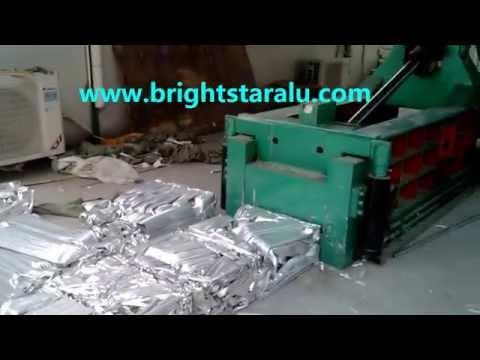 Aluminium Scrap Hydraulic Baling Press