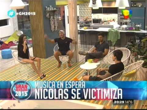 """""""Gran Hermano 2015"""": Francisco le dice a Nicolás que la gente y el musicalizador de La Casa, lo odian"""