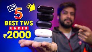 Top 5 Best TWS Earbuds Under ₹2000!! ⚡Best True Wireless Earphones 2020 (Hindi)
