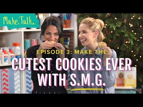 Sarah Michelle Gellar Easy Holiday Cookies | Make.Talk.