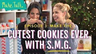 Holiday Cookie Decorating with Sarah Michelle Gellar | Make.Talk.