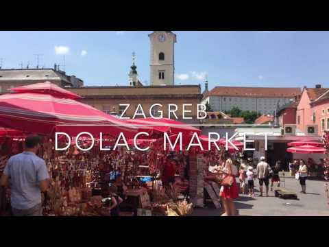 Zagreb's Central Outdoor Market