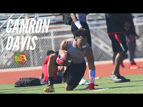Camron Davis Highlight Remix (Carol City '18) (University of Miami Commit!!)