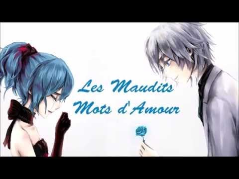Nightcore - Les Maudits Mots D'Amour (Lyrics)