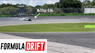 Running the Formula Drift PRO Layout in my STOCK Engine BMW E36