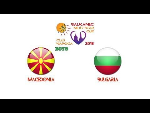 BALKAN NEXT STAR 2018: Macedonia - Bulgaria