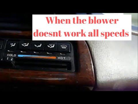 2003 nissan sentra blower motor resistor repair diy for 2007 nissan altima blower motor