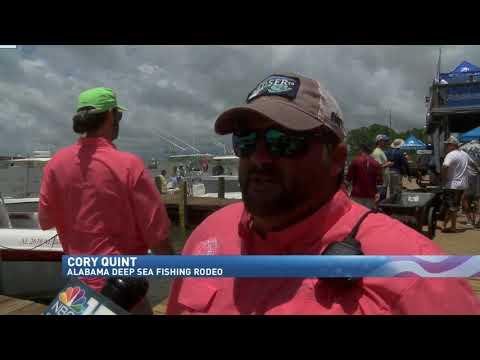 NBC 15 WPMI- 86th Alabama Deep Sea Fishing Rodeo On Dauphin Island