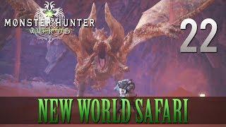 [22] New World Safari (Let's Play Monster Hunter: World [PS4 Pro] w/ GaLm)
