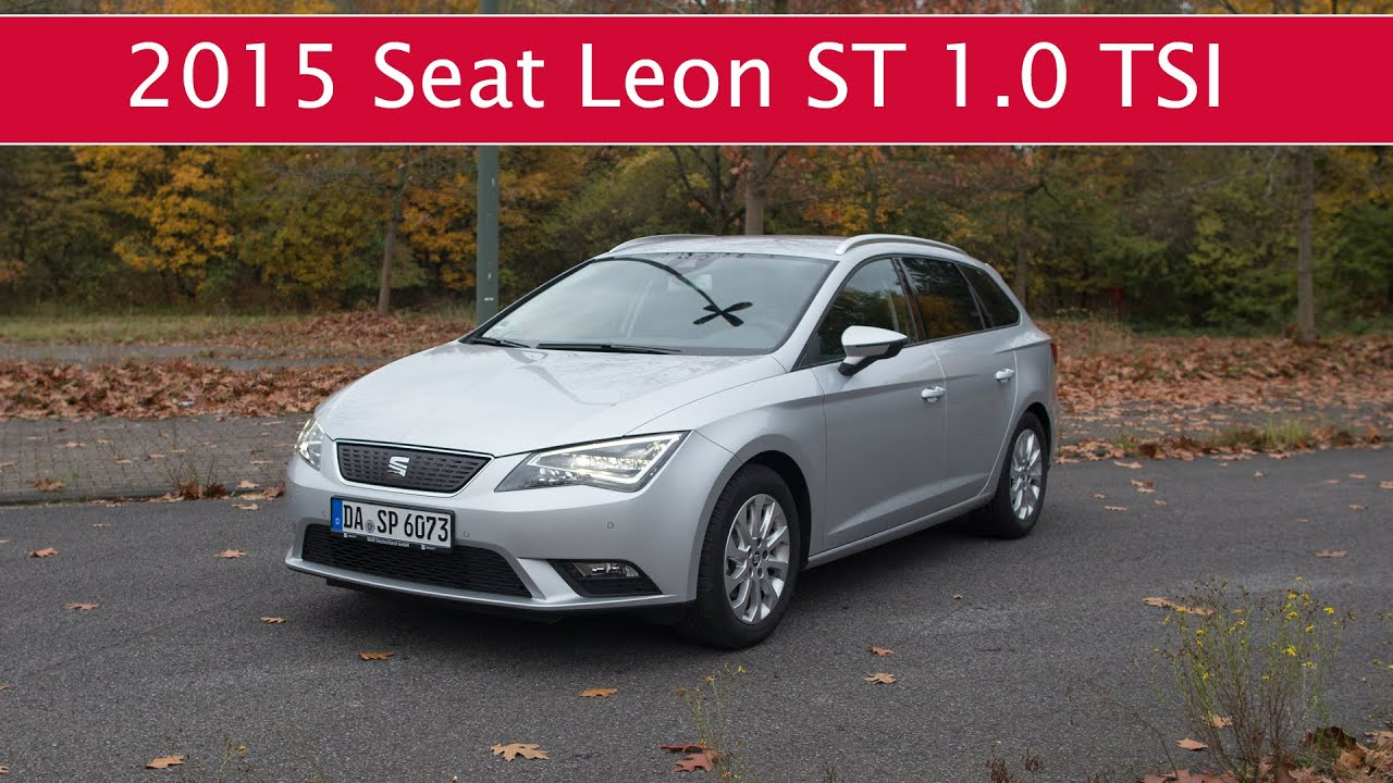 test fahrbericht seat leon st 1 0 tsi ecomotive youtube. Black Bedroom Furniture Sets. Home Design Ideas