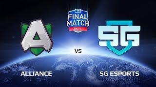 Alliance vs SG eSports, Game 2, The Final Match LAN-Final, Grand Final