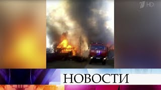 Все новые горячие точки возникают на карте природных пожаров России.