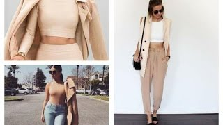 Outfits de color beige o color carne | cómo vestir | tendencia tonos nude