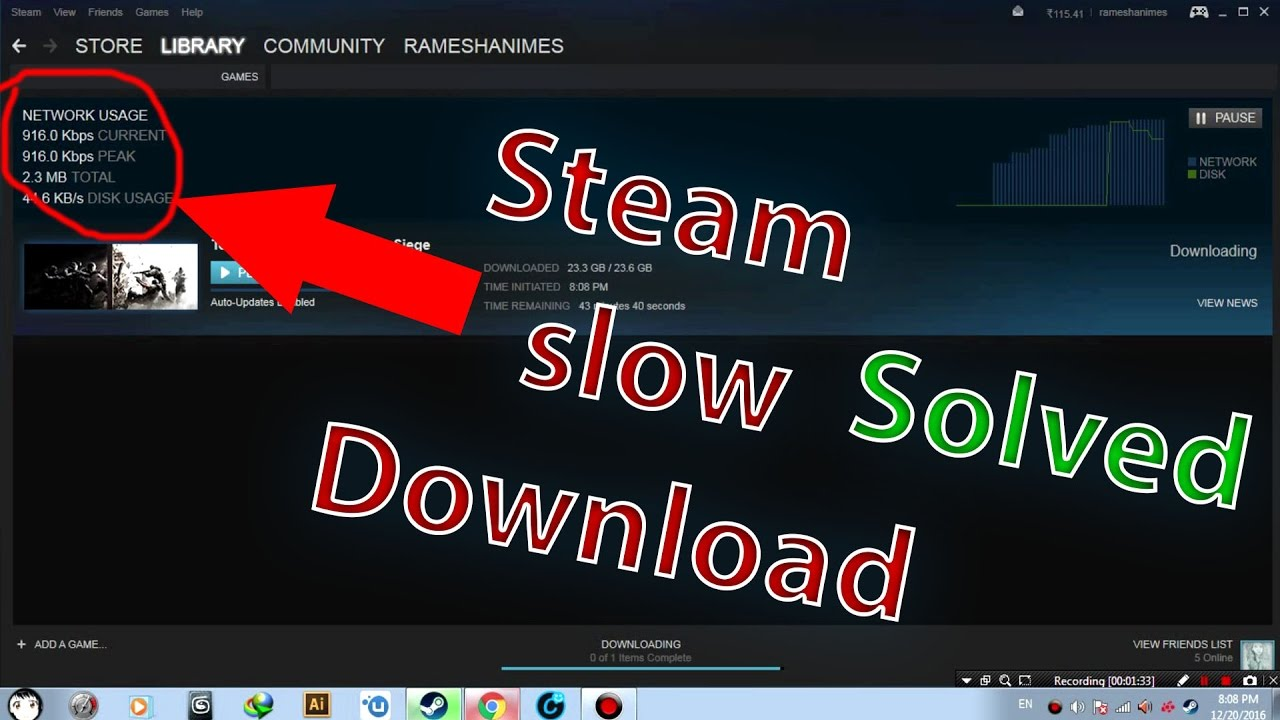 What Is Steam Network