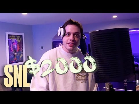 "Pete Davidson ""Andre 2000"" Music Video - SNL"